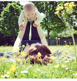 Baby Yoga & your baby's sensory development...
