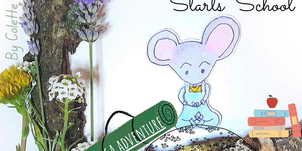 Yoga Mouse Starts School