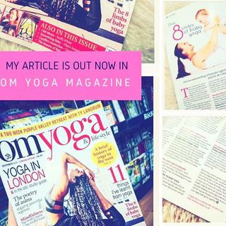My Article In OM YOGA Magazine