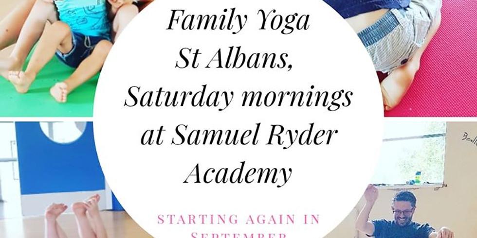 TASTER SESSION: Family Yoga St Albans September