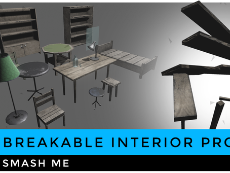 The Making of Breakable Interior Props