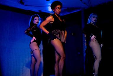 Alyssa Austin as Texas in Cabaret