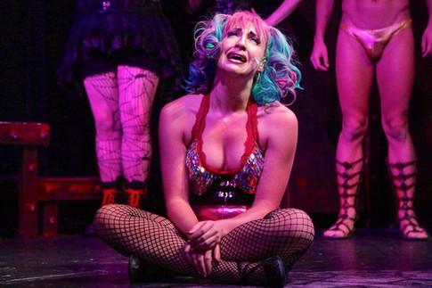 Alyssa Anne Austin as Columbia in The Rocky Horror Show