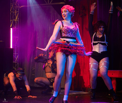 Columbia in The Rocky Horror Show