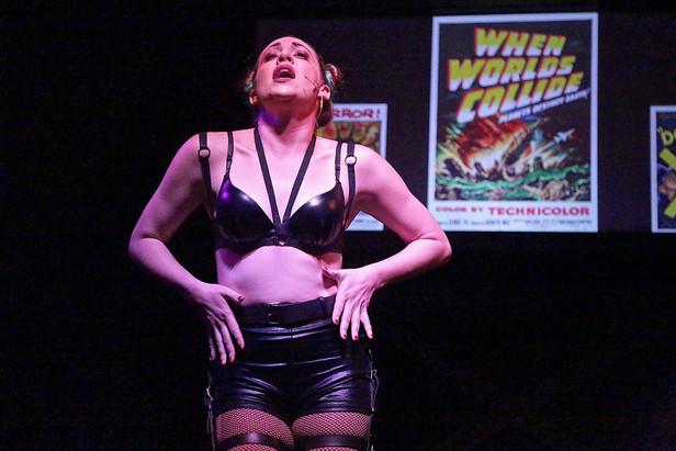 Alyssa Austin as Usherette in The Rocky Horror Show