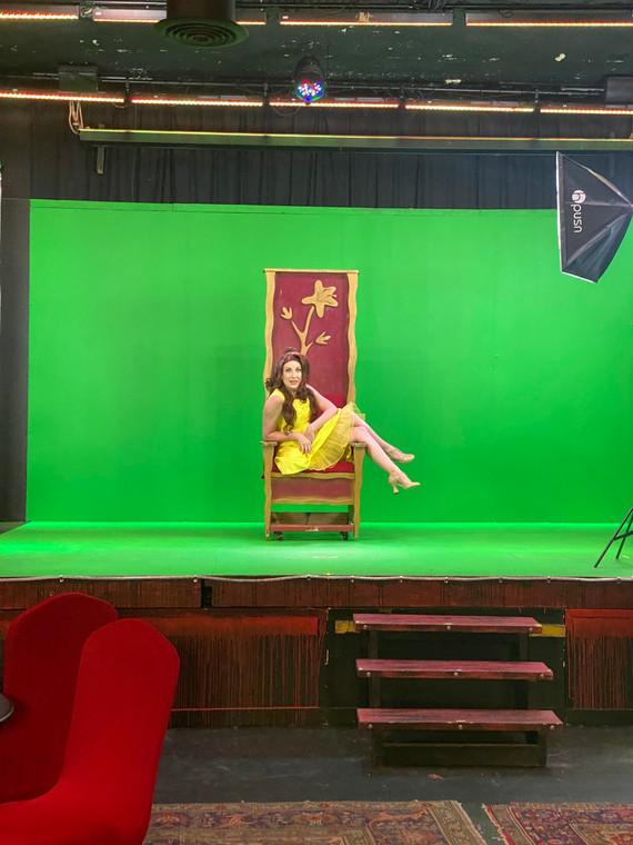 "Alyssa Anne Austin Recording a Virtual Production of ""Disenchanted"""