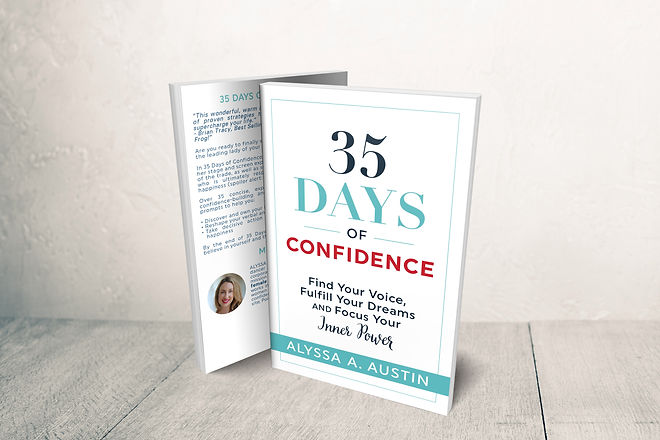 35 Days of Confidence Hits Best Seller Status on Amazon