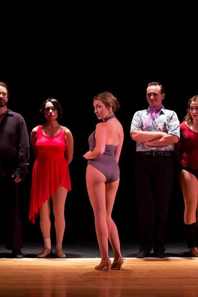 Alyssa Anne Austin as Sheila in A Chorus Line