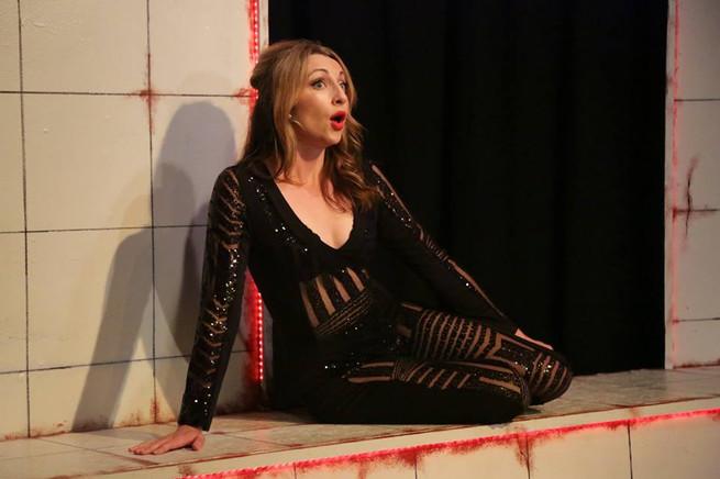 Alyssa Austin as Carla in Nine