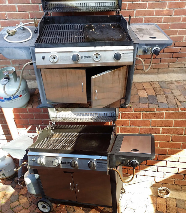 BBQ Cleaning kit - bbq dr- before-after4