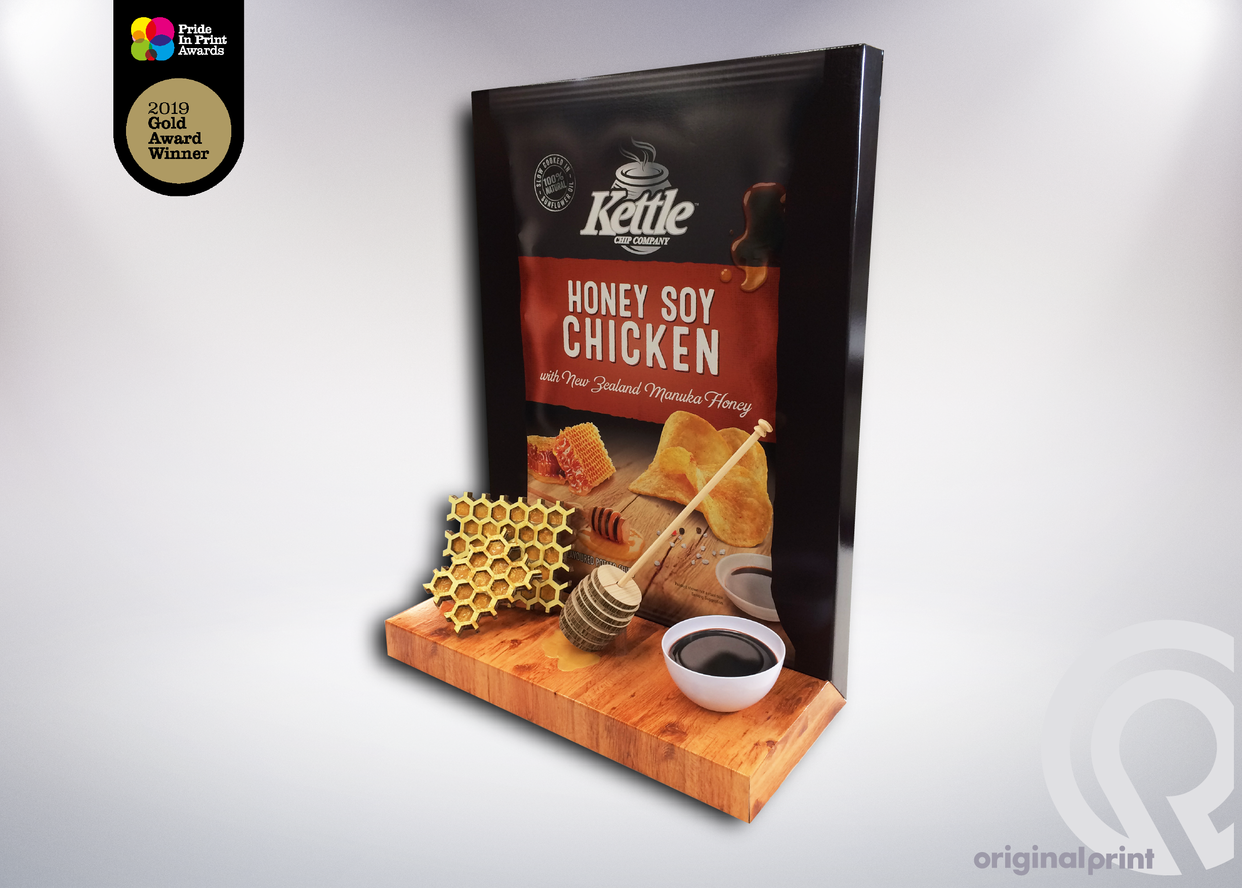 Kettle Honey Bookend