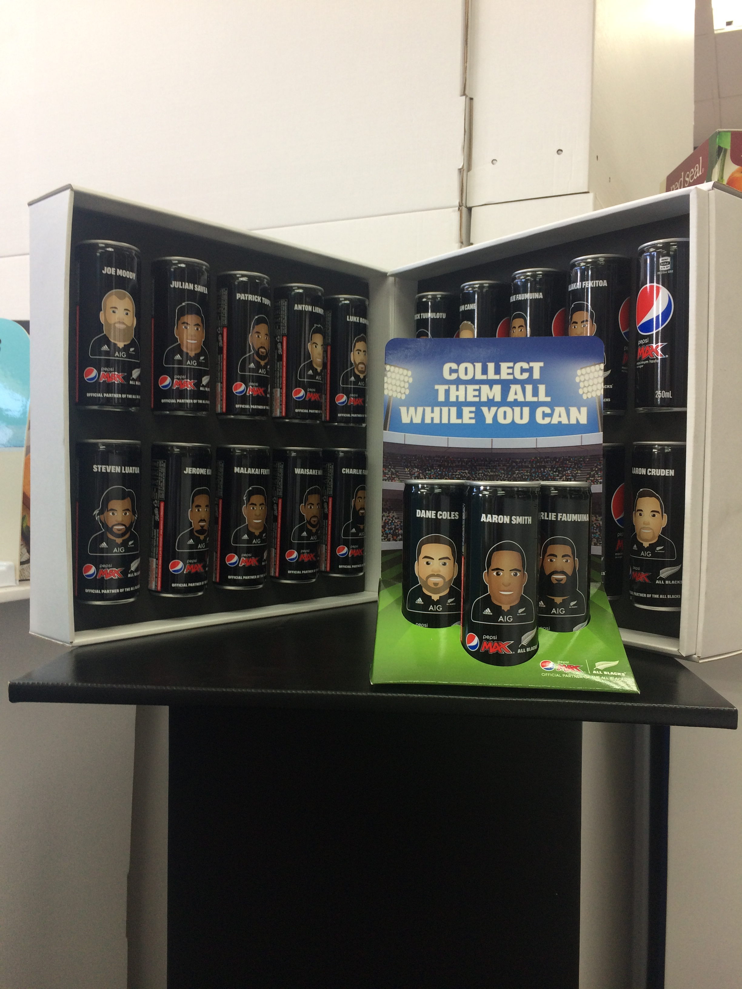 All Blacks Cans
