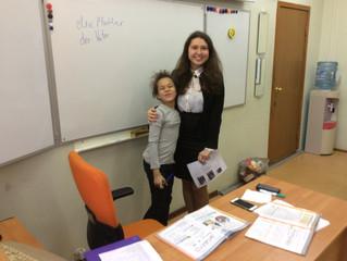 Выпускница ЭПШ провела мастер-класс по немецкому языку