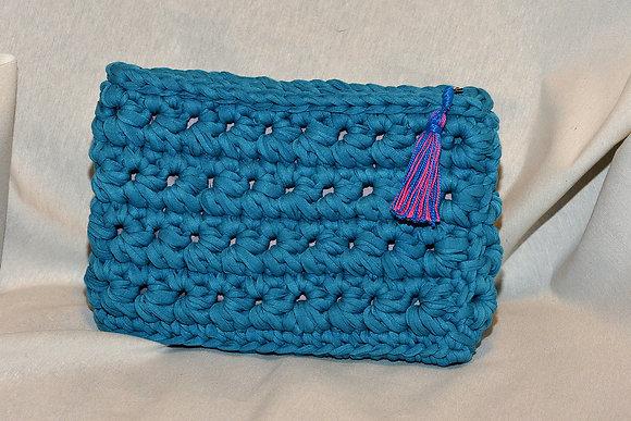 Bolso de mano Azul (Ref.C042)