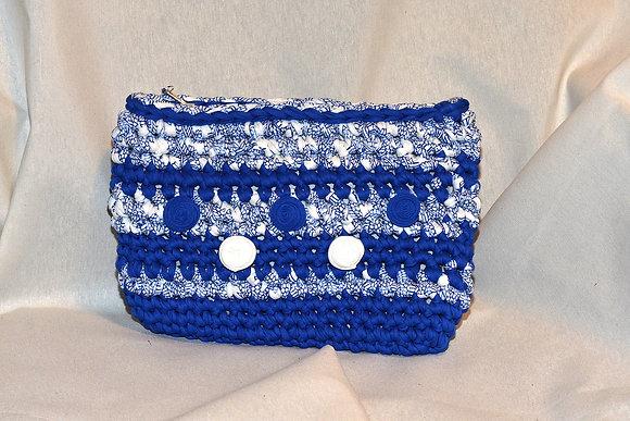 Bolso de mano Mar Azul (Ref.C016)