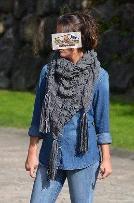 Pañuelo de lana GRIS (Ref. A013)