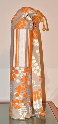 Bolsa yoga flores y rayas (Ref.Y033)
