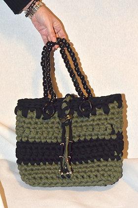 Bolso verde y negro (Ref.B004)