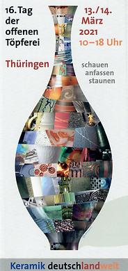 16. Tag der offenen Töpferei/ Thüringen, Keramik deutschlandweit