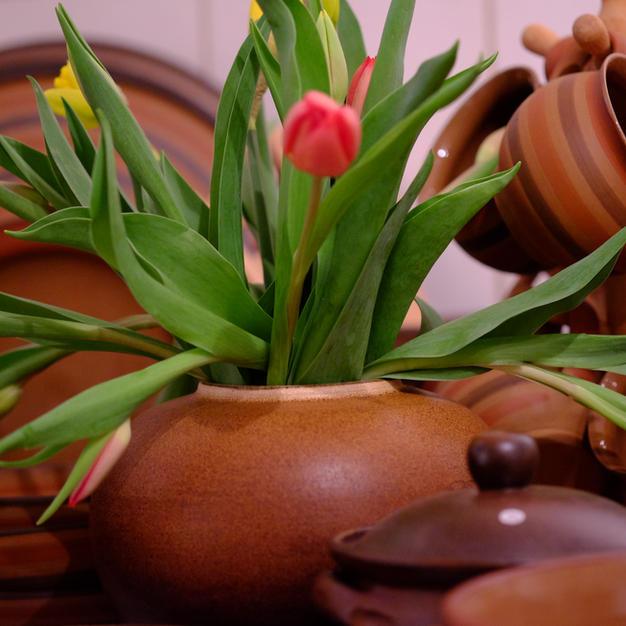 Tulpen Vase Kugel