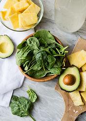 Salade mangue et avocat