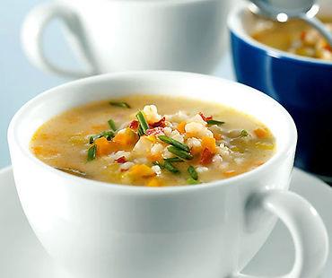 Soupe orges et carottes