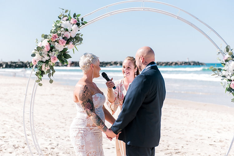 Looking for a someone to conduct your wedding ceremony in Coastal Queensland, lets talk about how I can make your day memorable and inclusive for everyone.