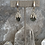 Thumbnail: Hammered Silver Labradorite Drizzles