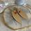 Thumbnail: Brushed Golden Pink Tourmaline Marquise