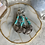 Thumbnail: Silver Floral Turquoise