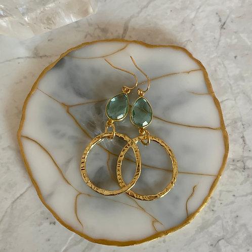 Apatite Golden Rings