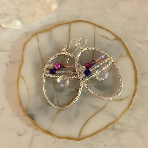 Fairy Crystal Bead Ovals