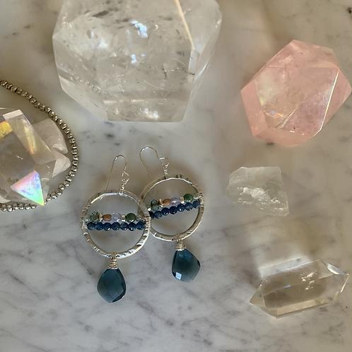Micro Sapphire & Kyanite Quartz