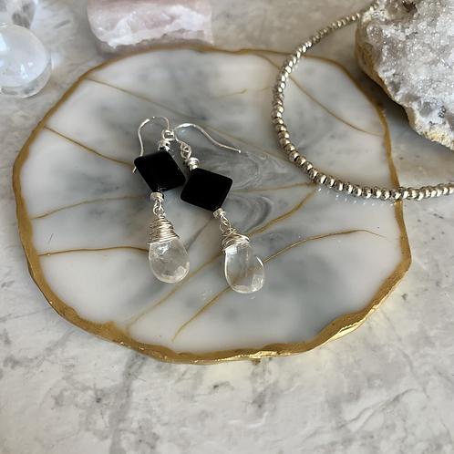 Black Diamond Mystic Quartz Drops