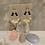 Thumbnail: Swarovski & Onyx Golden Floral