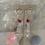 Thumbnail: Deep Ruby Pink Golden Swarovski Drops