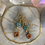 Thumbnail: Golden Sweet Bird & Flower Hoops