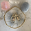 Thumbnail: Swarovski Baroque Brushed Oval Hoops