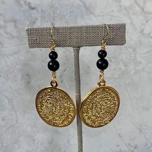 Black Onyx Golden Treasure