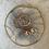 Thumbnail: Rose Gold Swarovski Luster Crystal