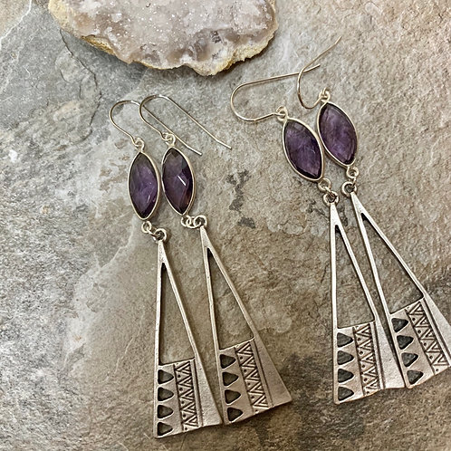 Purple Amethyst Tribal