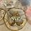 Thumbnail: Swarovski Golden Seafoam Crecents