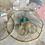 Thumbnail: Ultra light London Blue Topaz Gold Hoops