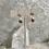 Thumbnail: Sterling Silver Celestial Garnet Drops
