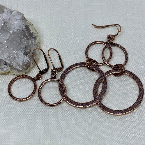 Copper Circle Set of 2
