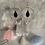 Thumbnail: Brushed Silver Black & Crystal Drop Hoops