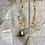 Thumbnail: Elegantly Long Golden Crystal Quartz Dangles