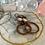 Thumbnail: Swarovski Copper Hoops