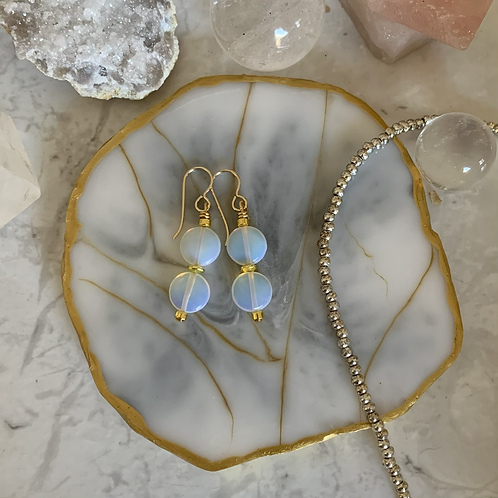 Golden Opalite Drops