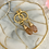 Thumbnail: Mini Gold Hoop Blossom Drop
